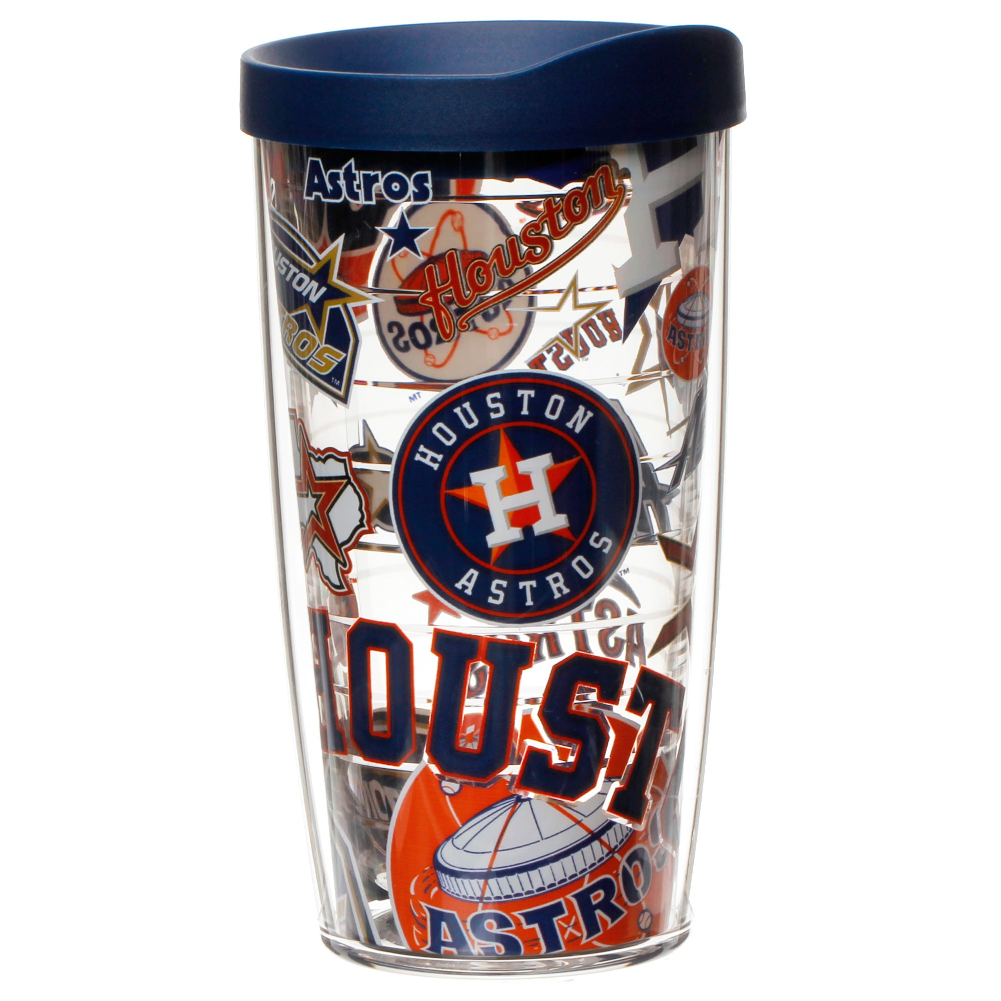 Houston Astros Tervis 16oz. All Over Wrap Tumbler With Lid