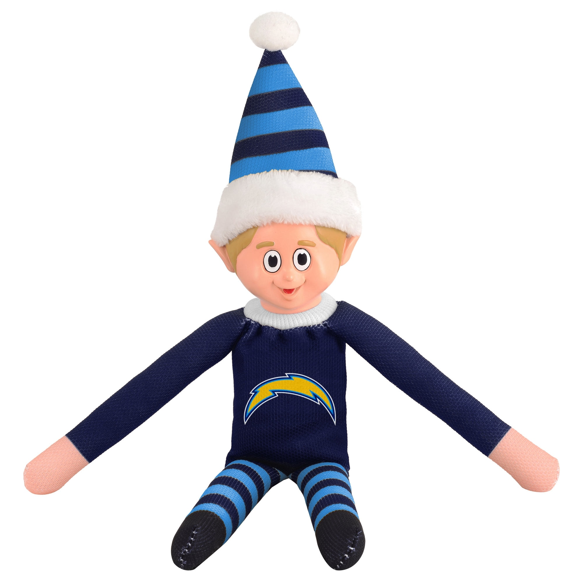 Los Angeles Chargers Plastic Face Elf