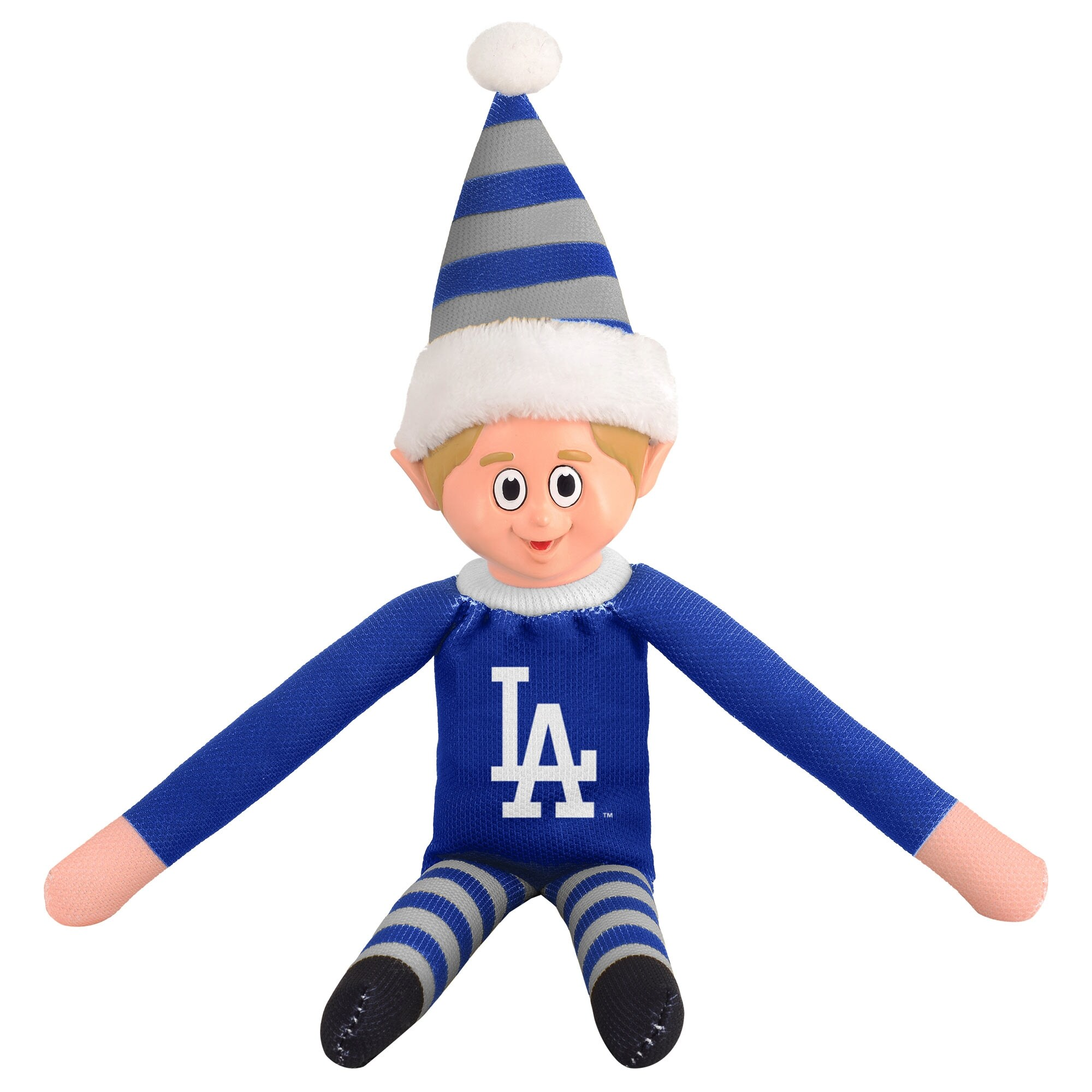 Los Angeles Dodgers Plastic Face Elf