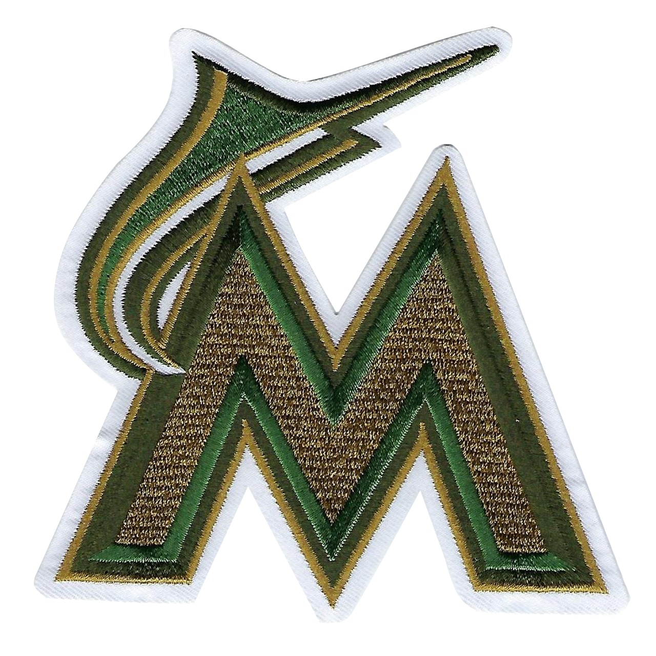 Miami Marlins 2018 Memorial Day USMC Logo Patch