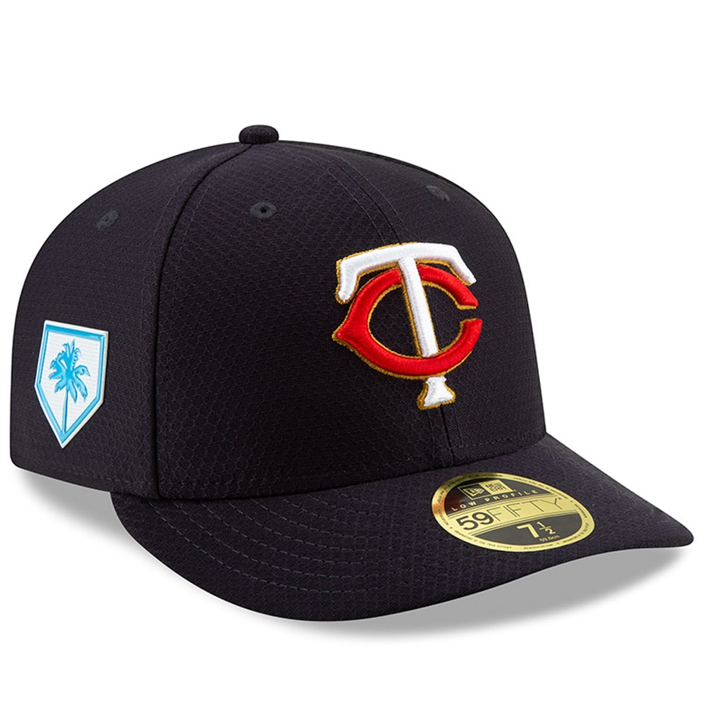 Minnesota Twins New Era Home 2019 Spring Training Low Profile 59FIFTY Fitted Hat - Navy