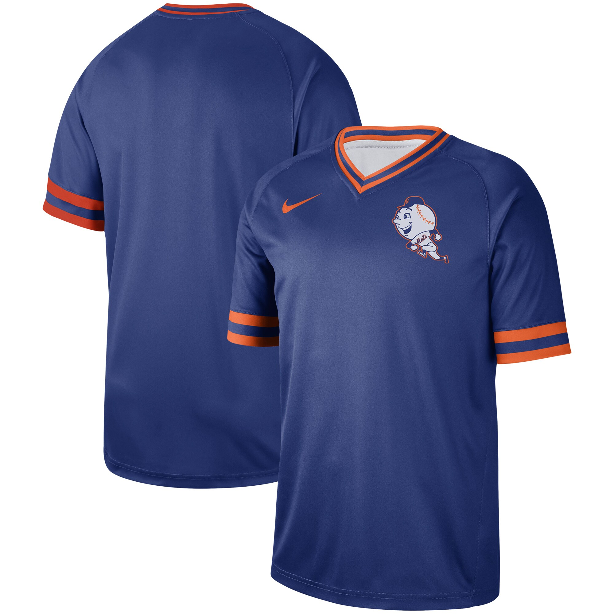 New York Mets Nike Cooperstown Collection Legend V-Neck Jersey - Royal