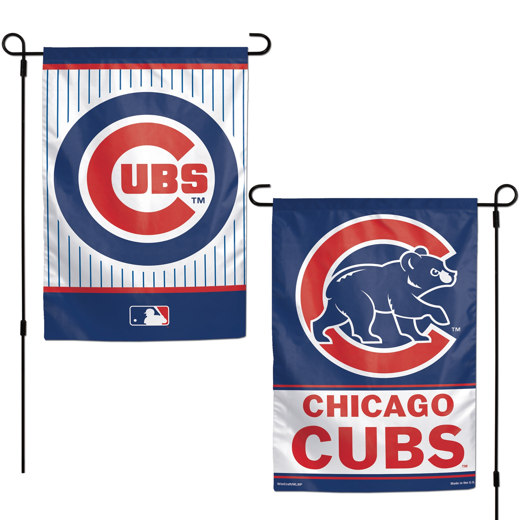 """Chicago Cubs WinCraft 12"""" x 18"""" Double-Sided Garden Flag"""
