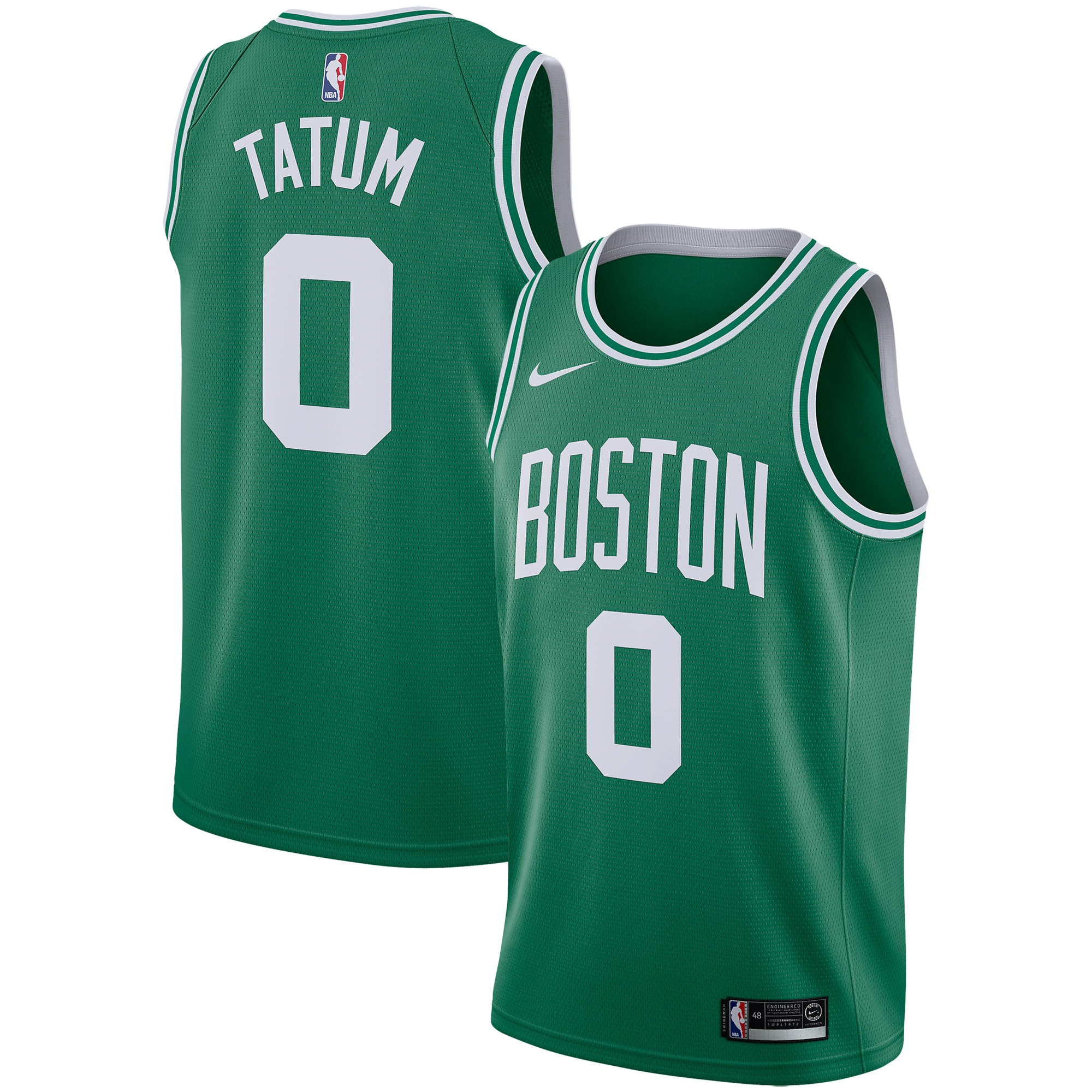 Jayson Tatum Boston Celtics Nike Swingman Jersey - Icon Edition - Green