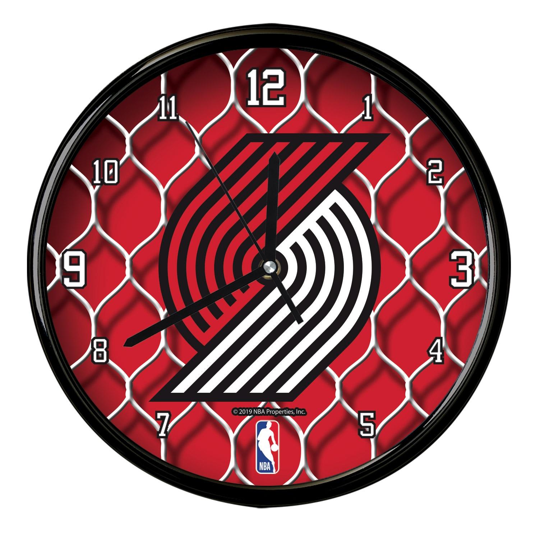 Portland Trail Blazers 12'' Team Net Clock