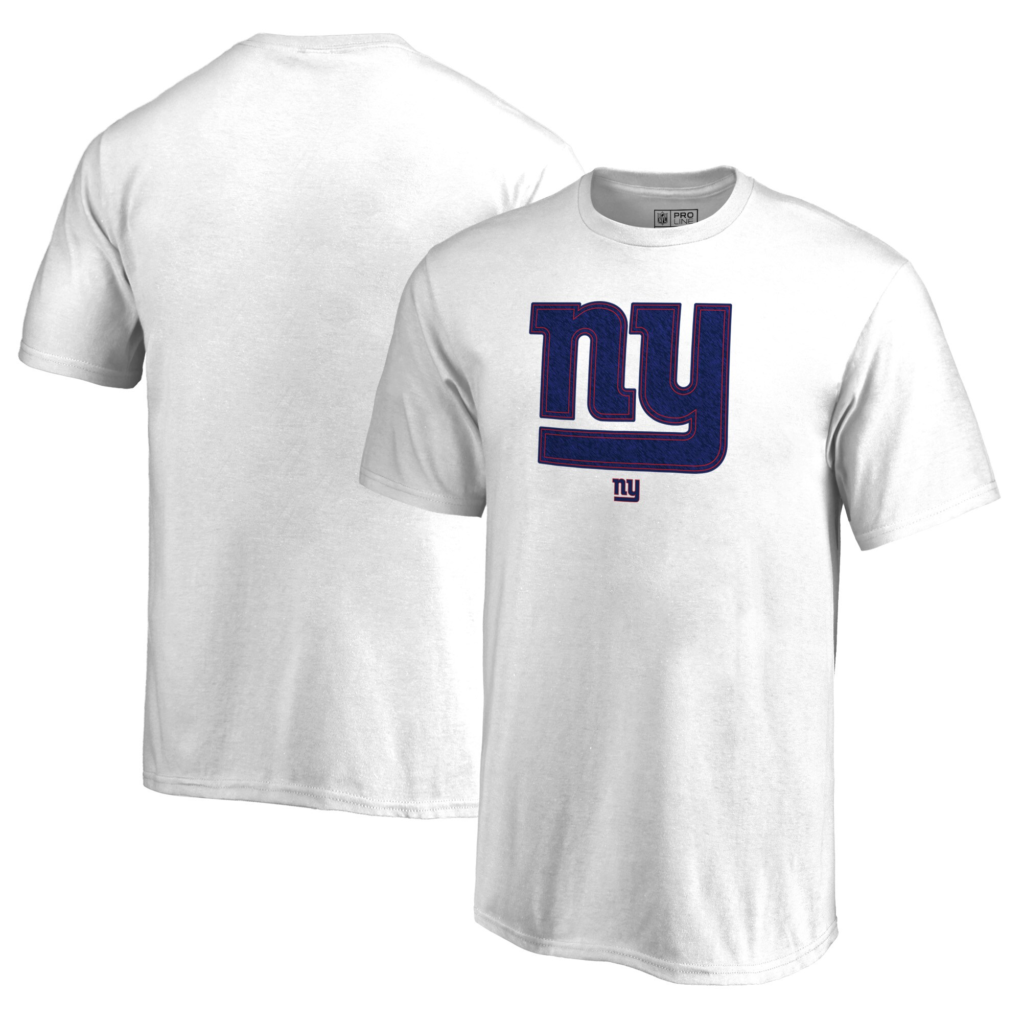 New York Giants NFL Pro Line by Fanatics Branded Youth Training Camp Hookup T-Shirt - White