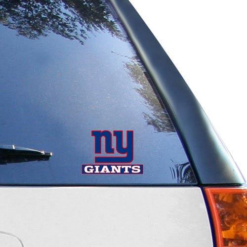 "New York Giants WinCraft 4"" x 5"" Perfect Cut Team Logo Decal"