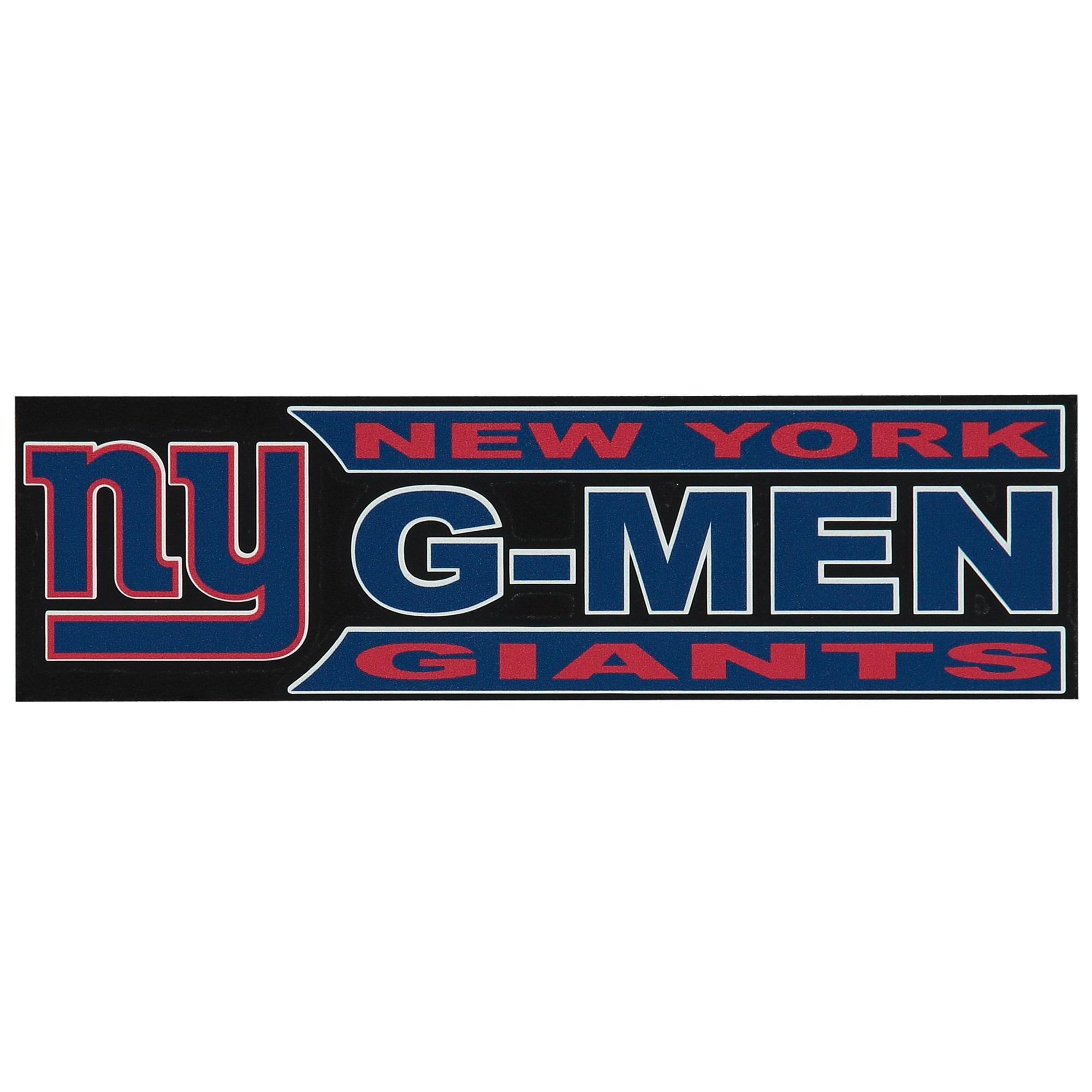"""New York Giants 3"""" x 10"""" Xpression Full Color Decal"""