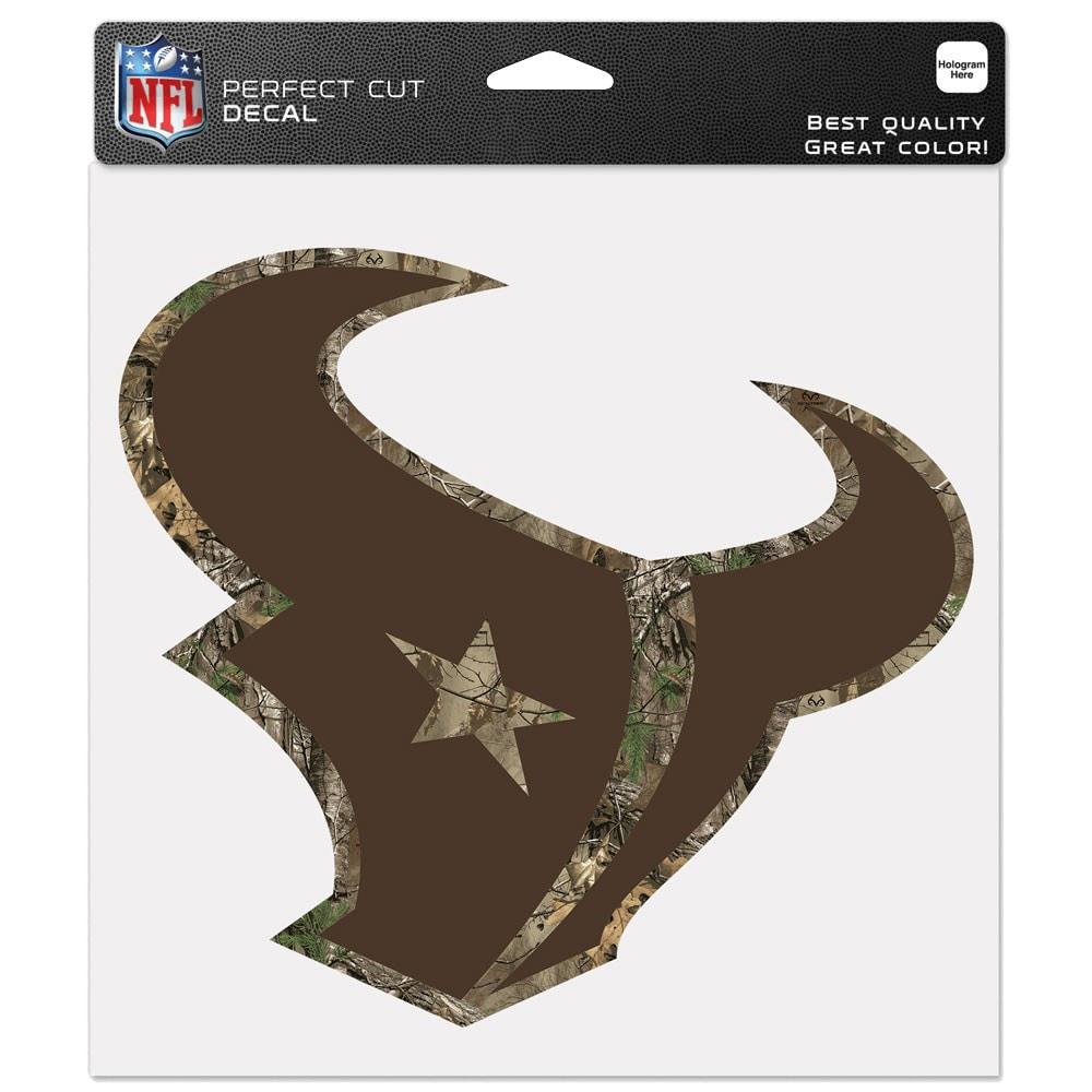 "Houston Texans WinCraft 8"" x 8"" Camo Color Decal"
