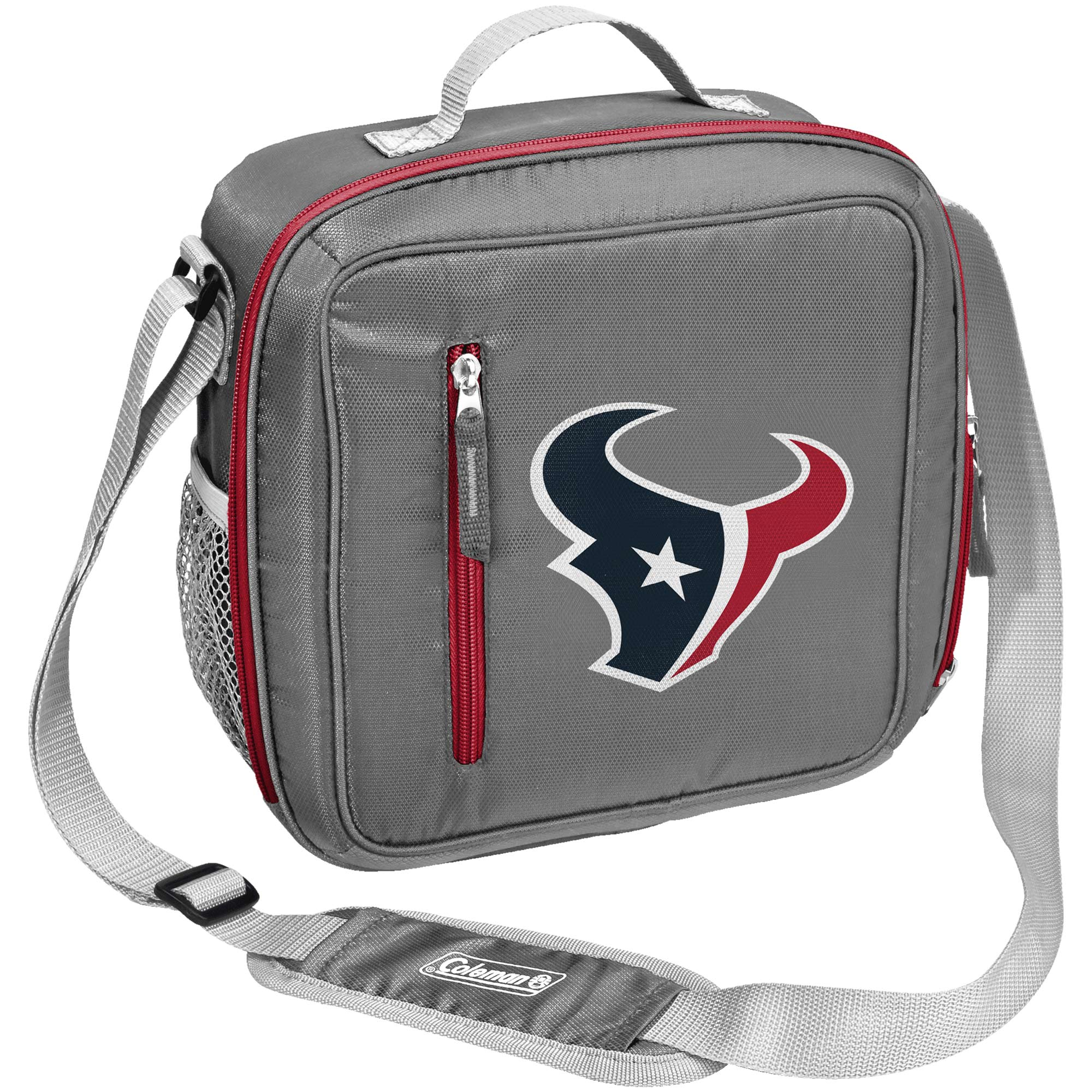 Houston Texans Coleman Team Logo Messenger Cooler