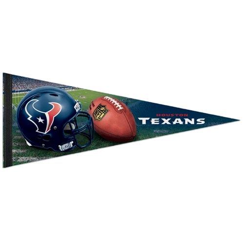"Houston Texans WinCraft 12"" x 30"" Premium Pennant"