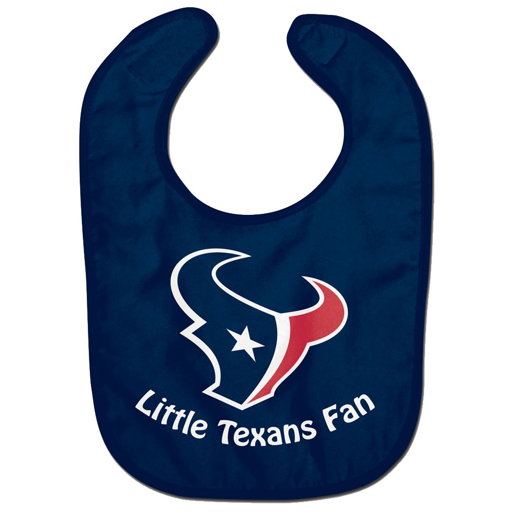 Houston Texans WinCraft Infant Lil Fan All Pro Baby Bib