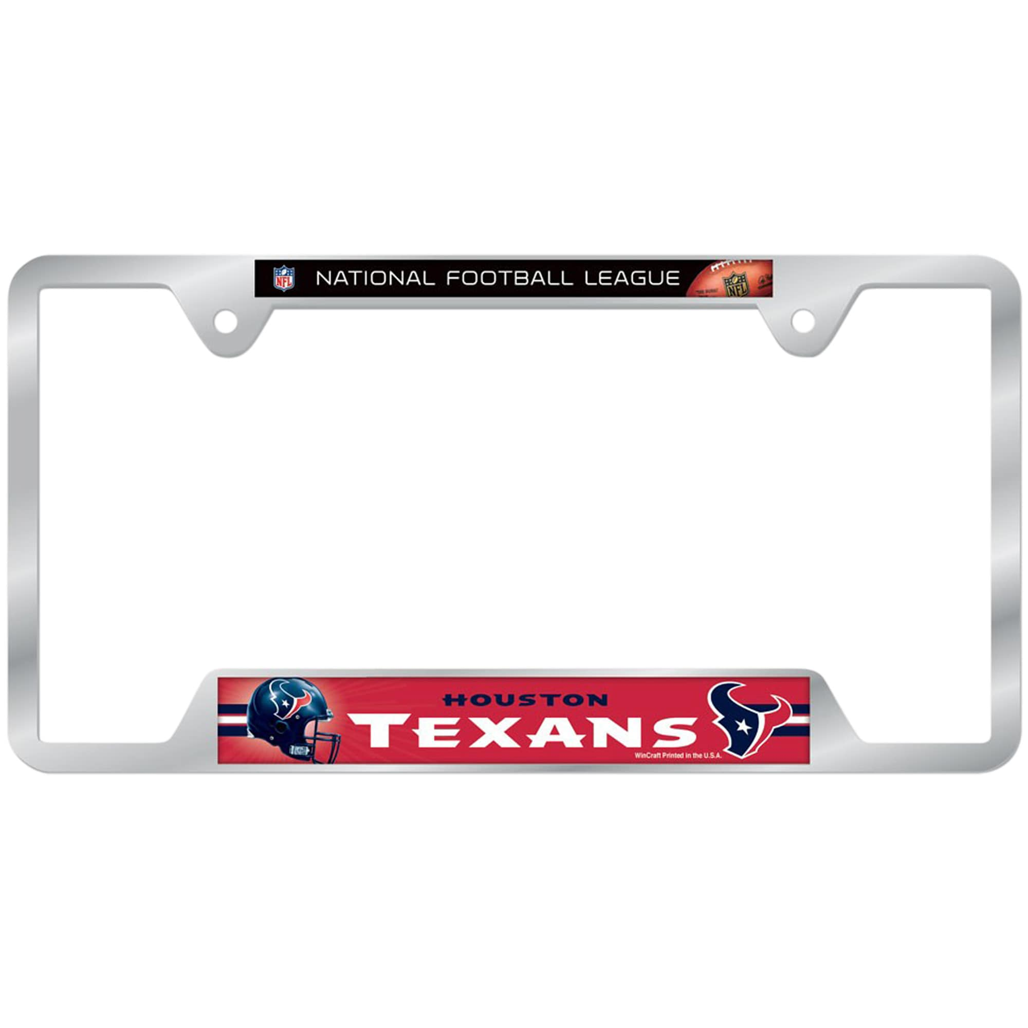 Houston Texans WinCraft License Plate Frame