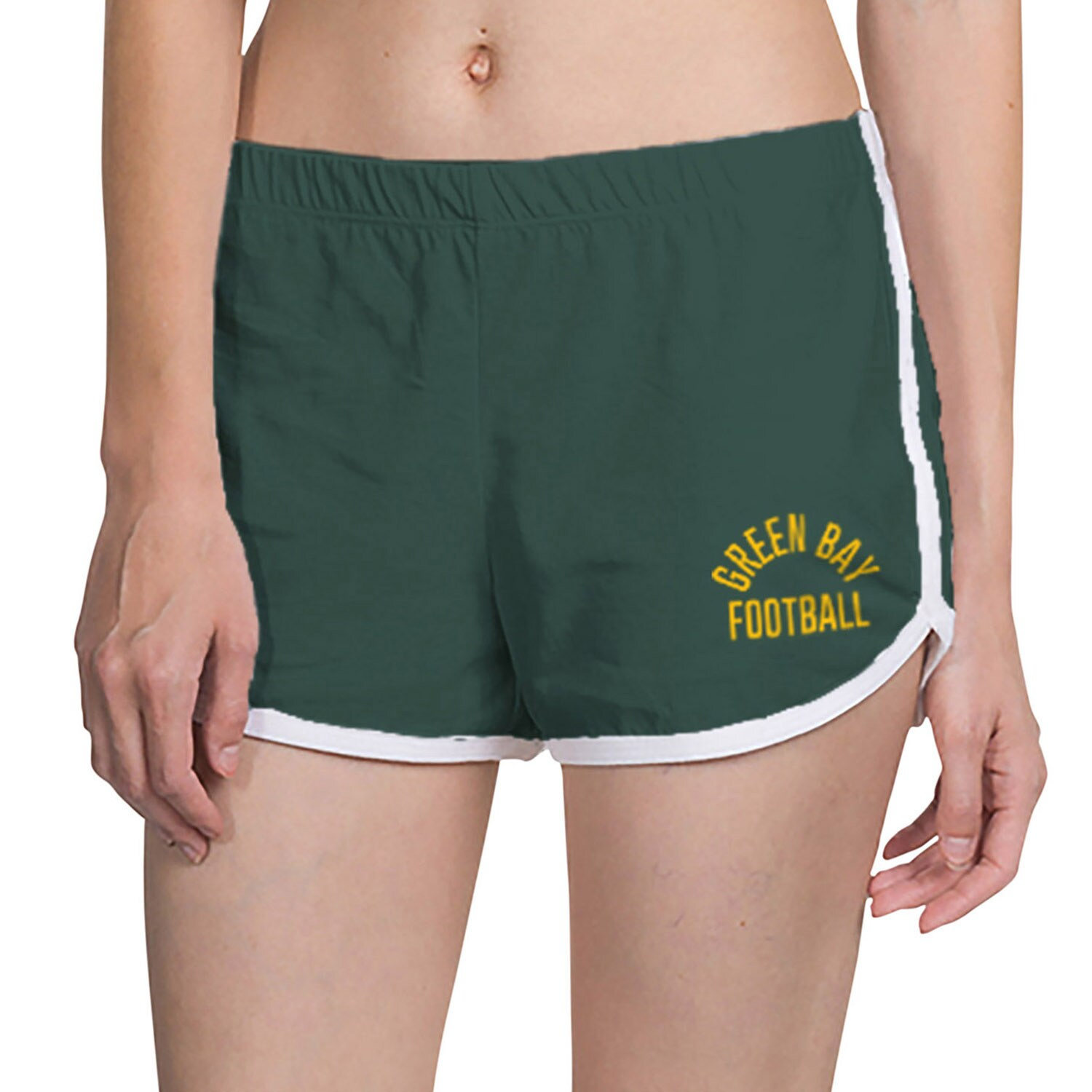 Green Bay Packers Junk Food Women's Lounge Shorts - Green