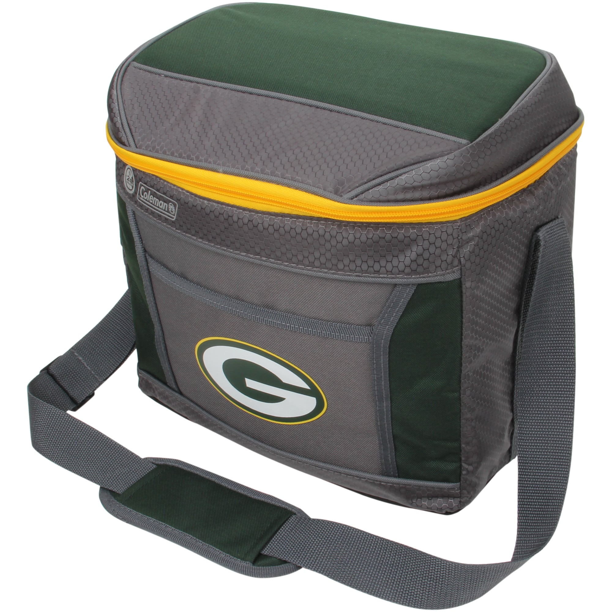 Green Bay Packers Coleman 16-Can 24-Hour Soft-Sided Cooler
