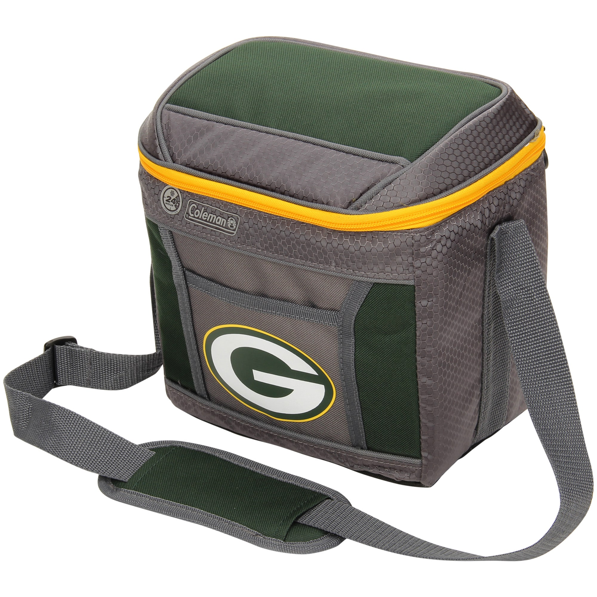 Green Bay Packers Coleman 9-Can 24-Hour Soft-Sided Cooler