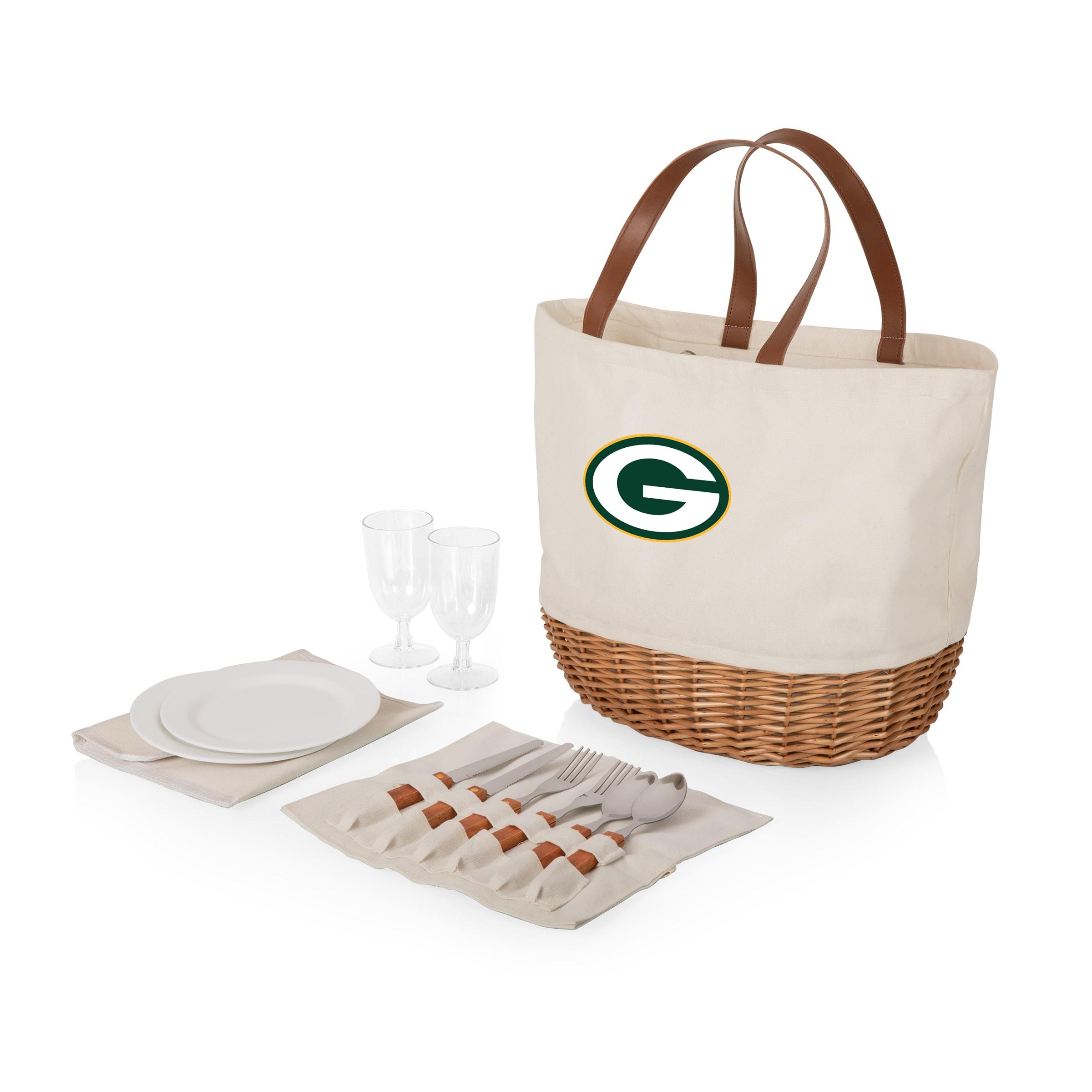 Green Bay Packers Promenade Picnic Basket Set