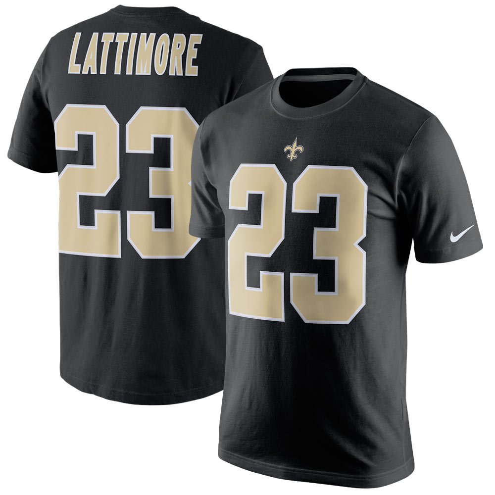 Marshon Lattimore New Orleans Saints Nike Player Pride Name & Number T-Shirt - Black