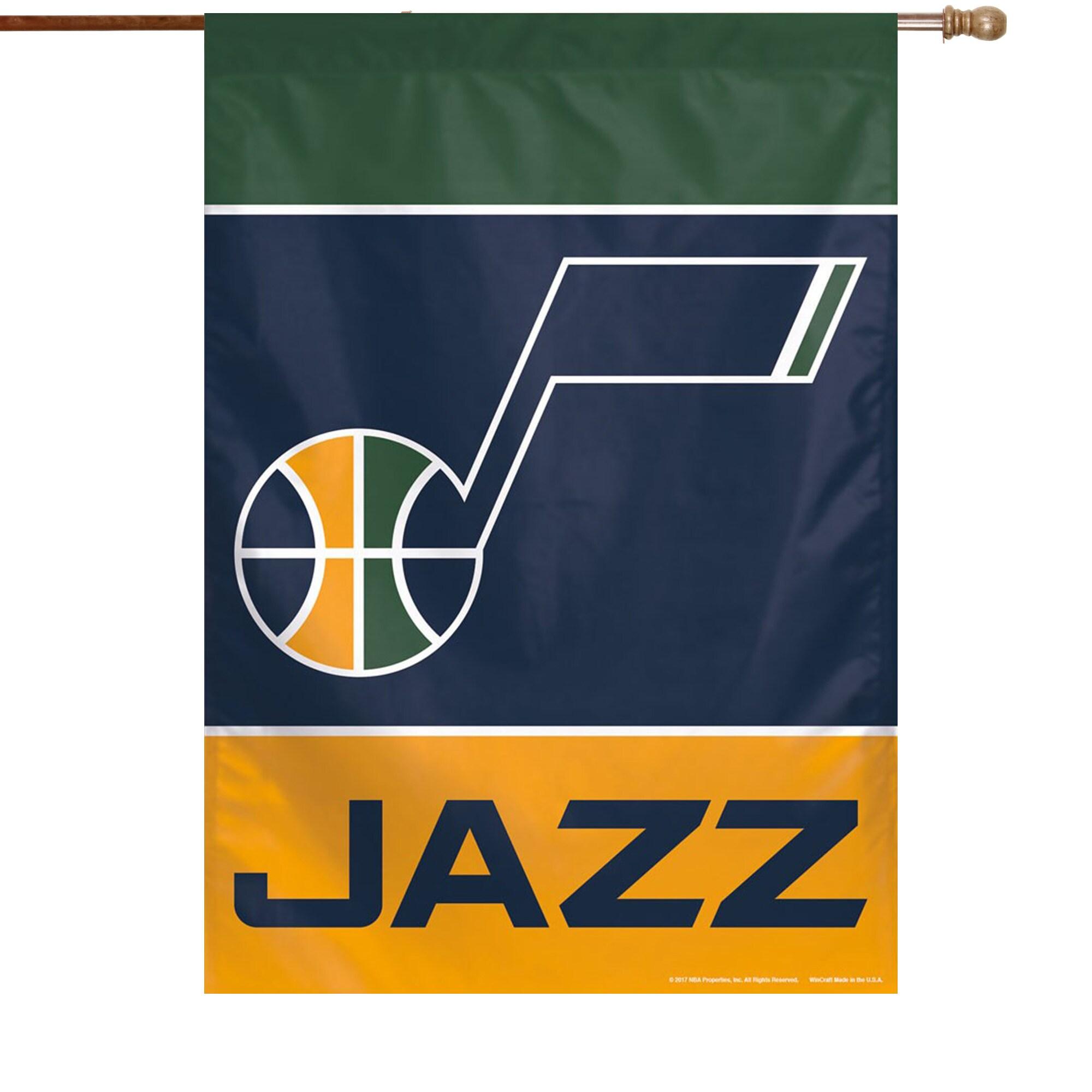 "Utah Jazz WinCraft 28"" x 40"" Primary Logo Single-Sided Vertical Banner"