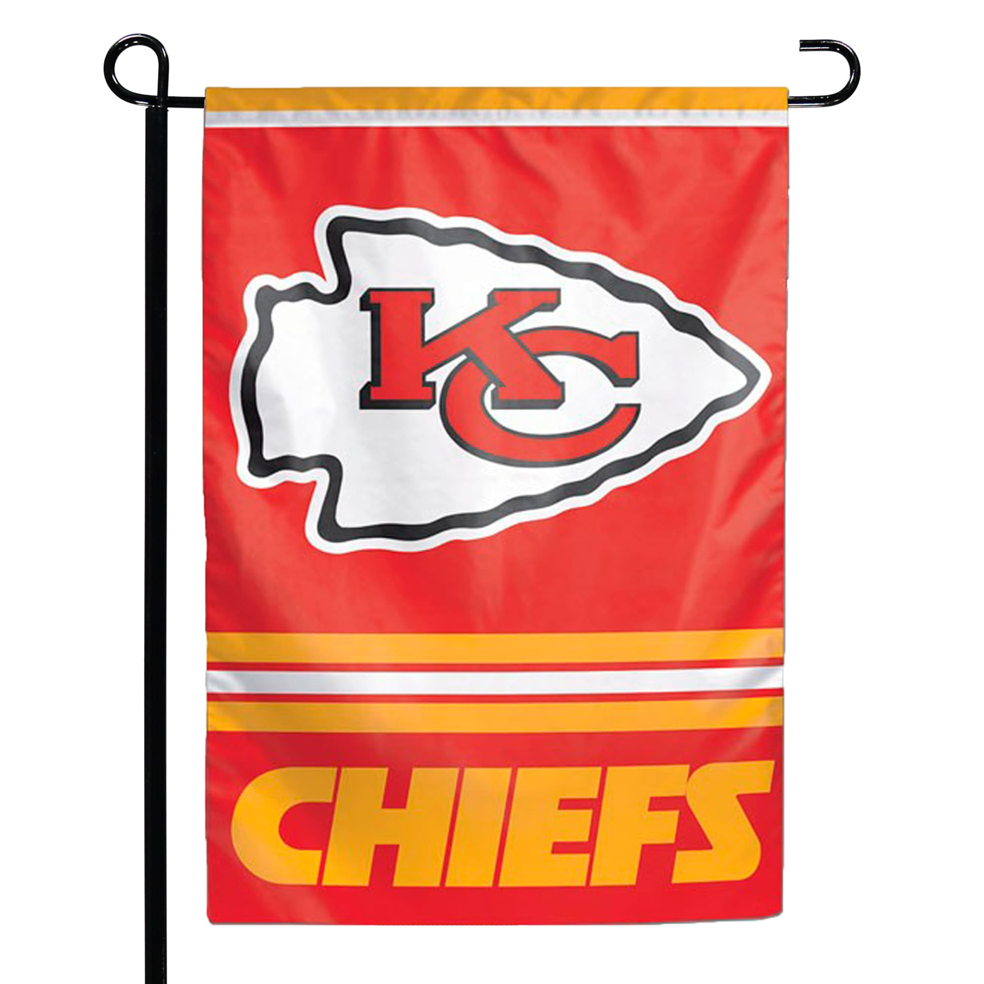 "Kansas City Chiefs WinCraft 12"" x 18"" Double-Sided Garden Flag"