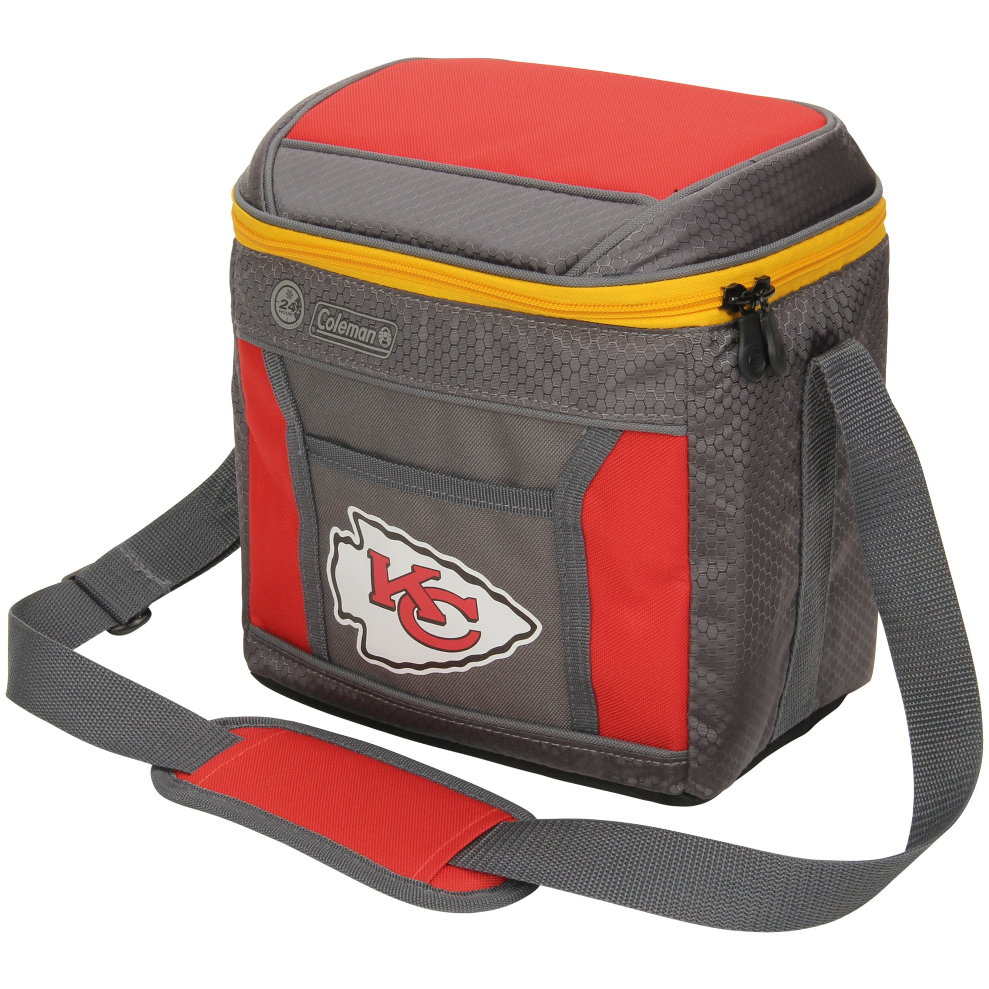 Kansas City Chiefs Coleman 9-Can 24-Hour Soft-Sided Cooler