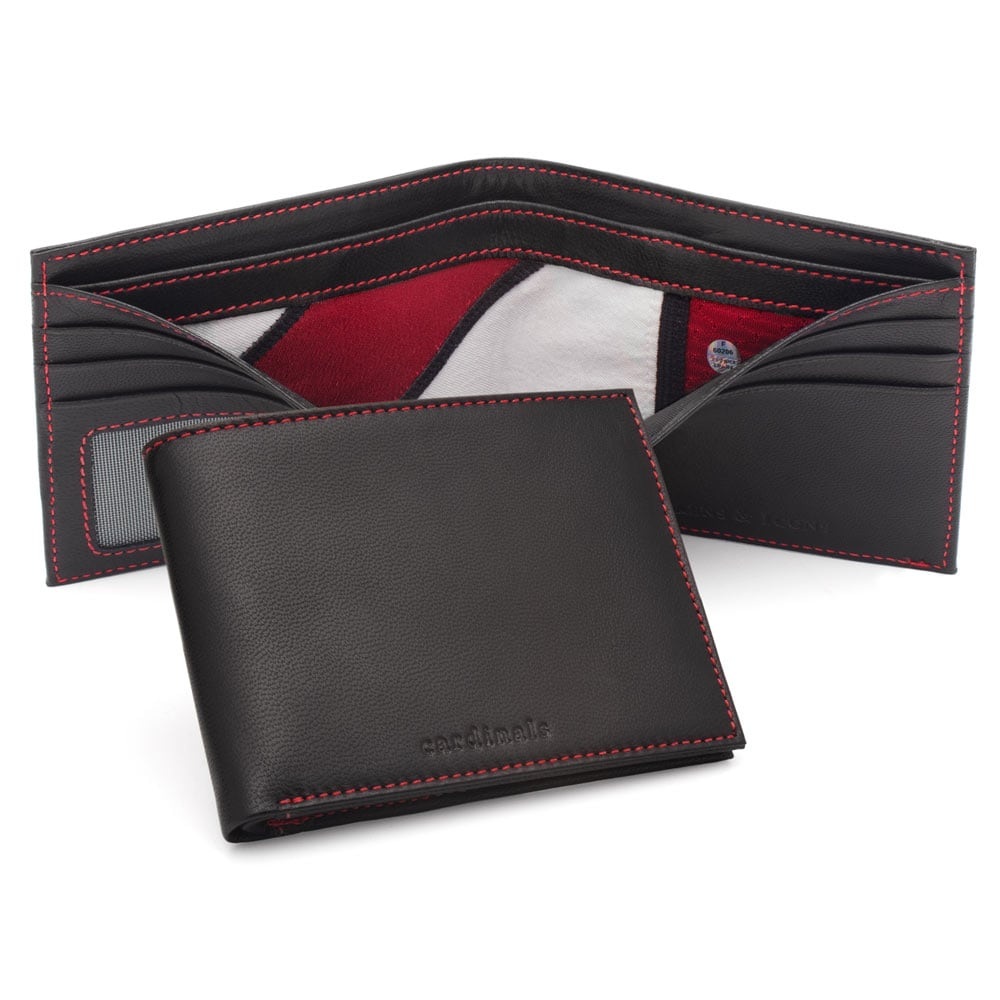 Arizona Cardinals Tokens & Icons Game-Used Uniform Leather Wallet