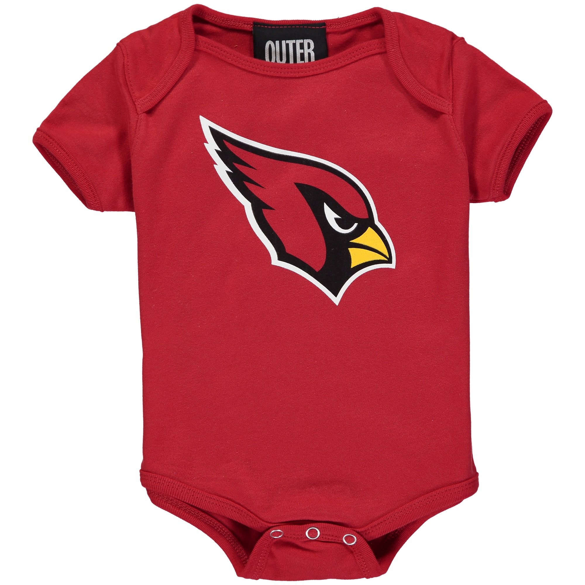 Arizona Cardinals Newborn & Infant Team Logo Bodysuit - Cardinal