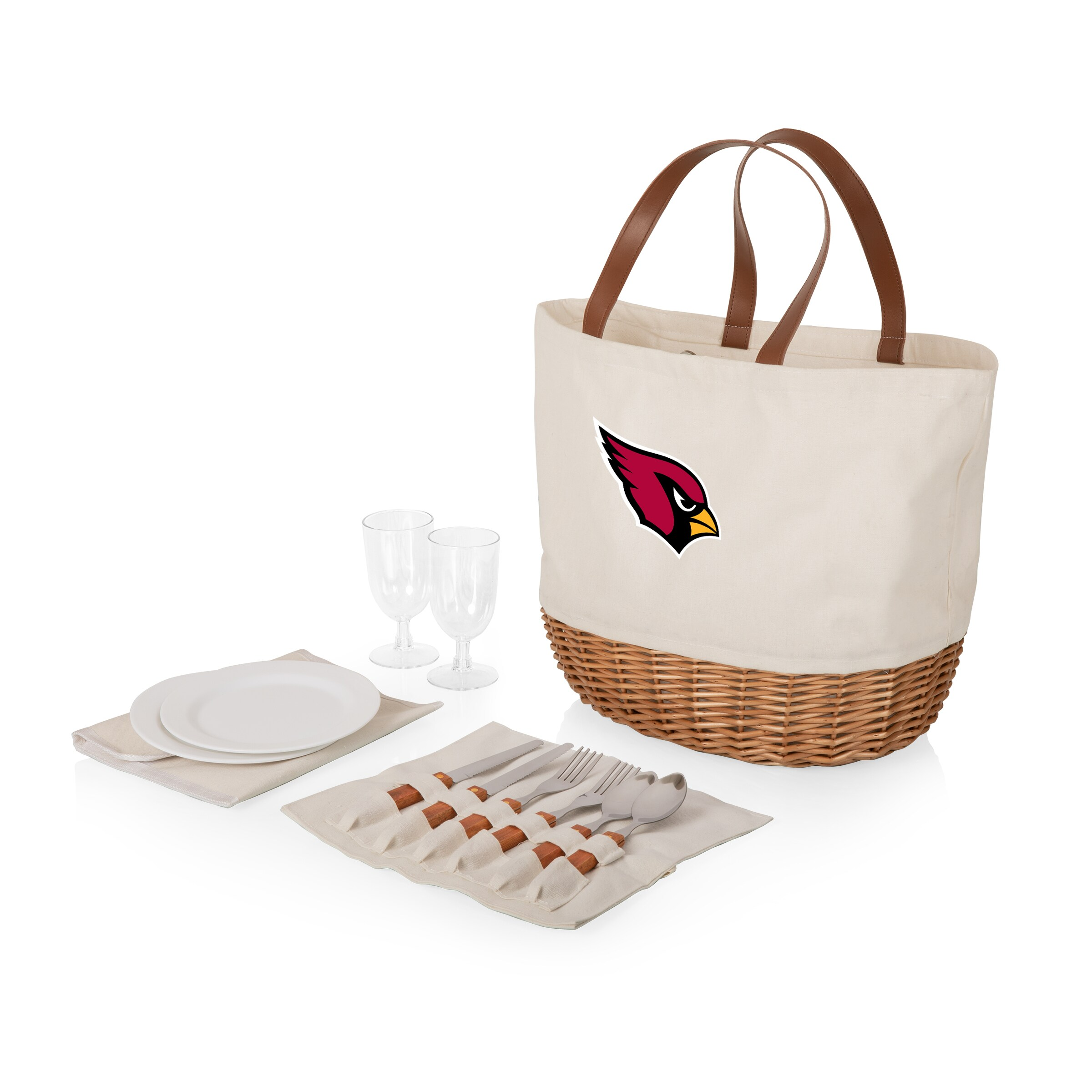 Arizona Cardinals Promenade Picnic Basket Set