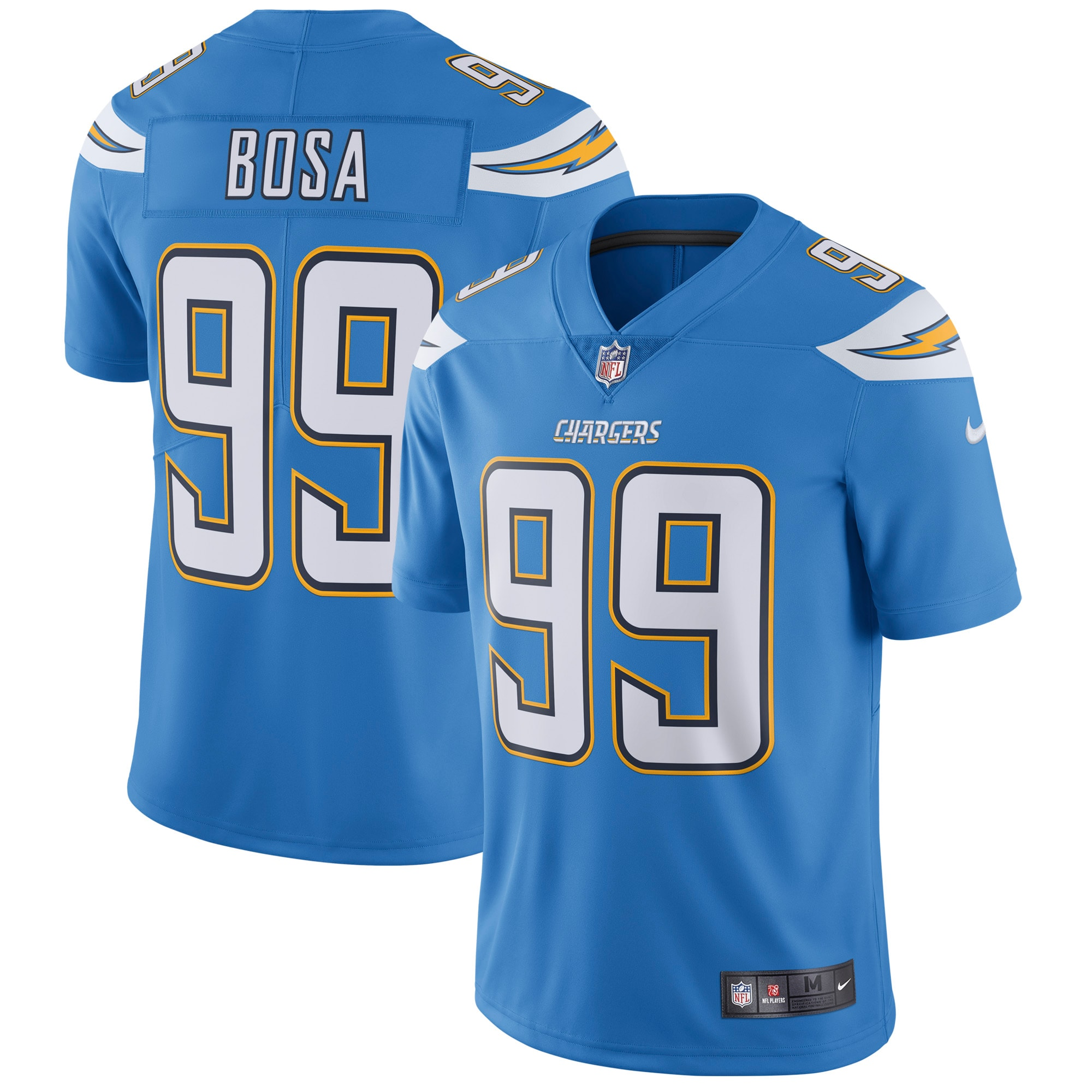 Joey Bosa Los Angeles Chargers Nike Vapor Untouchable Limited Player Jersey - Powder Blue