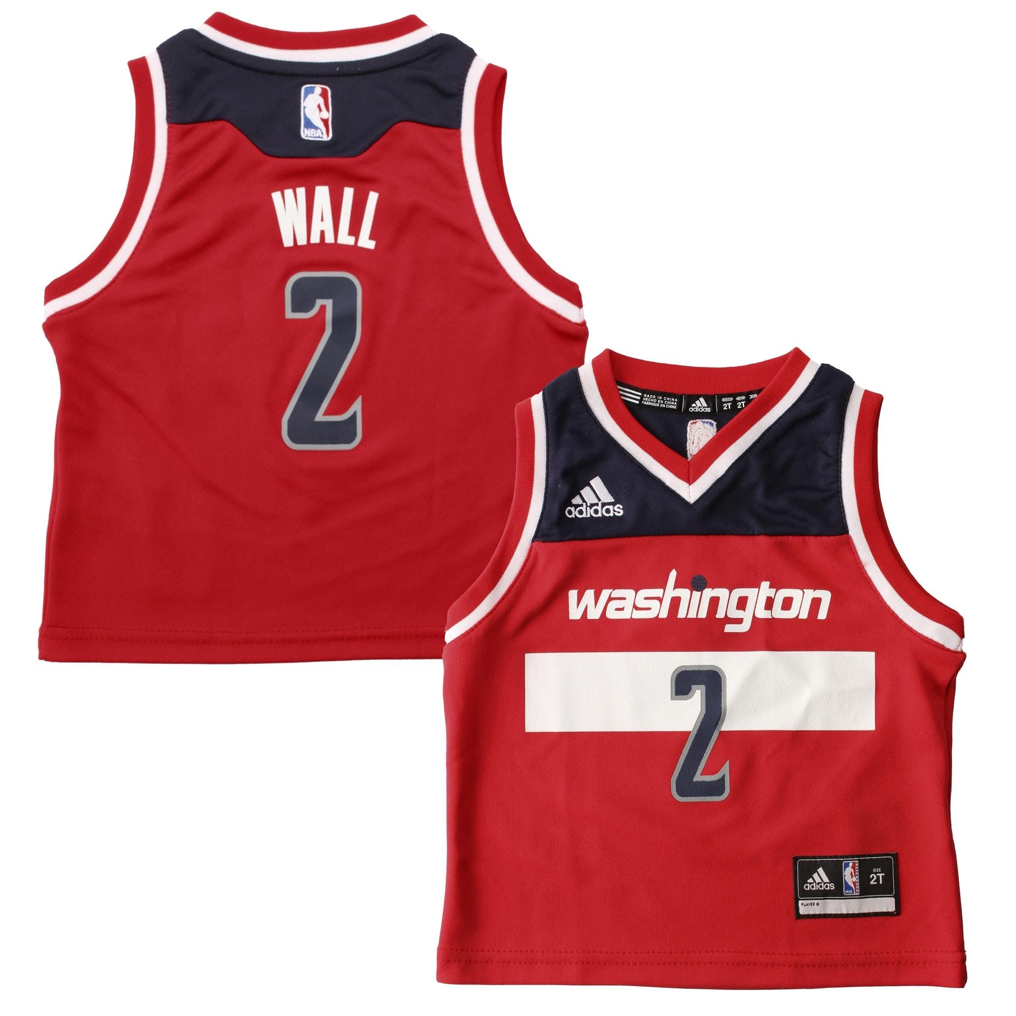 John Wall Washington Wizards adidas Toddler Replica Jersey - Red