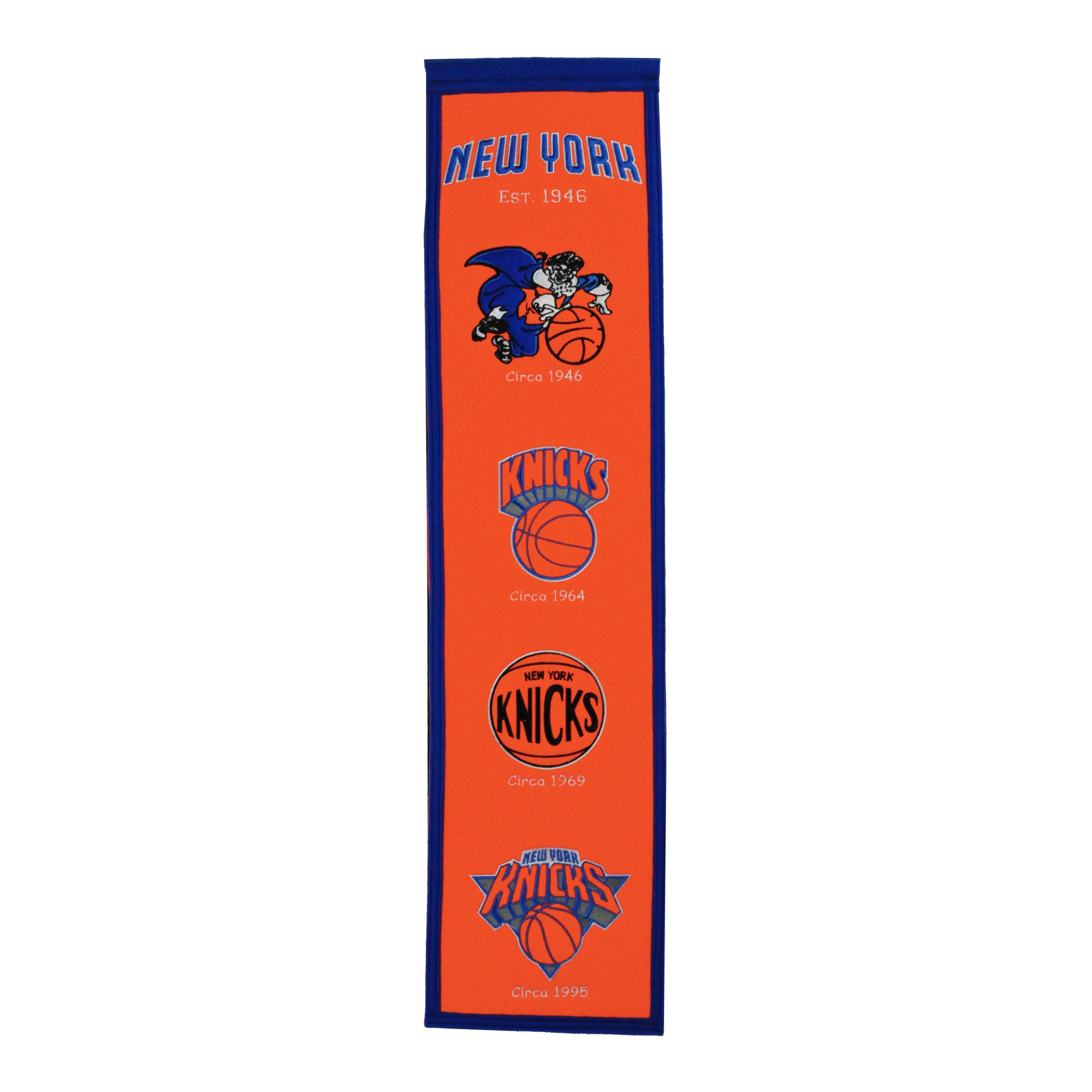 "New York Knicks 8"" x 32"" Premium Heritage Banner"