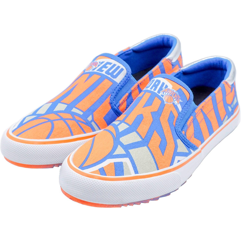 New York Knicks Slip-On Canvas Shoes - Blue
