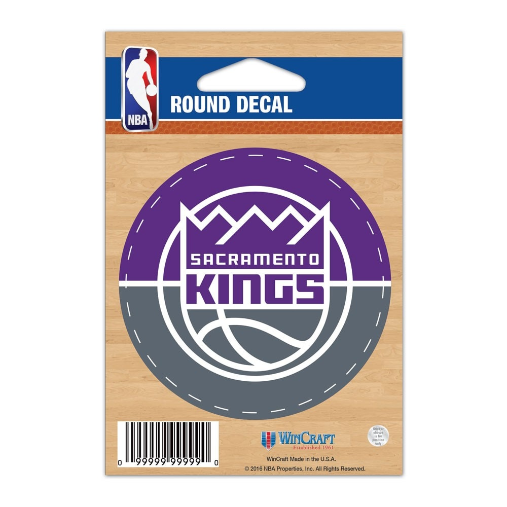 "Sacramento Kings WinCraft 3"" Round Decal"