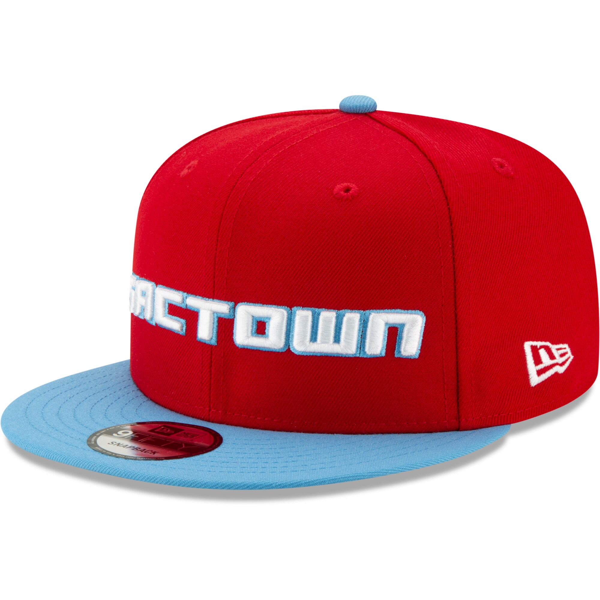 Sacramento Kings New Era 2019/20 City Edition On Court 9FIFTY Snapback Adjustable Hat - Red/Light Blue