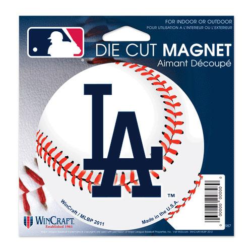 "Los Angeles Dodgers WinCraft 5"" Die-Cut Car Magnet"