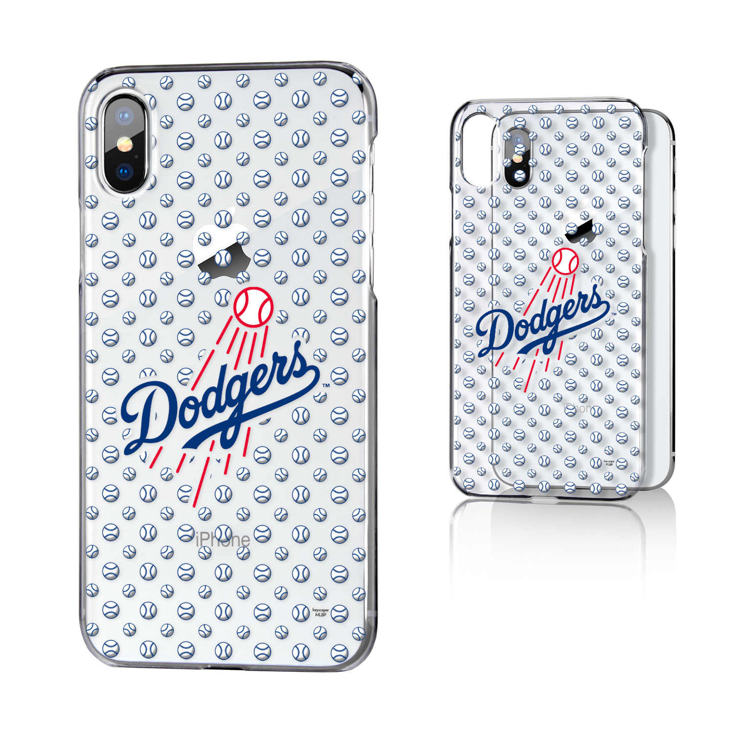 Los Angeles Dodgers iPhone X/Xs Clear Case