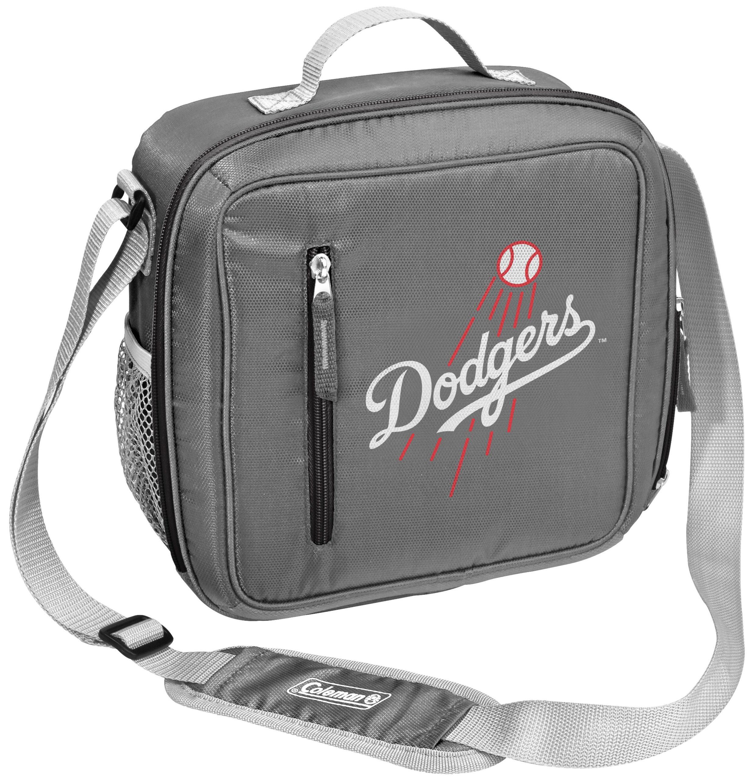 Los Angeles Dodgers Coleman Team Logo Messenger Cooler