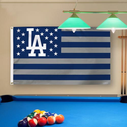 Los Angeles Dodgers WinCraft Deluxe Stars & Stripes 3' x 5' Flag