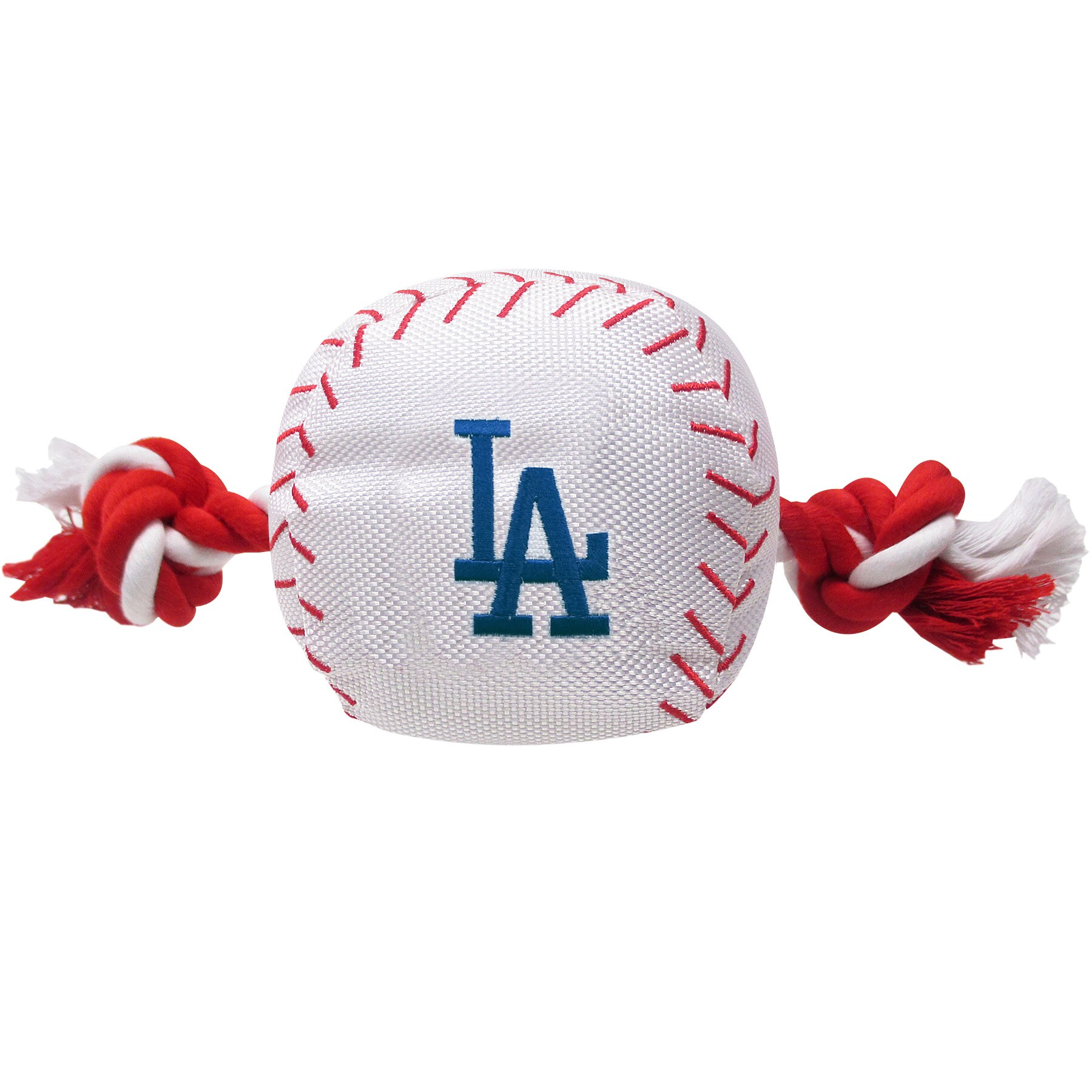 Los Angeles Dodgers Dog Baseball Rope Toy