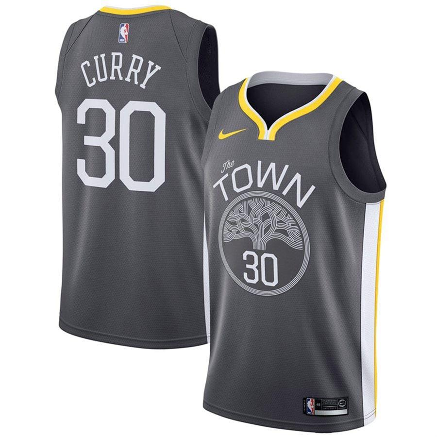 Stephen Curry Golden State Warriors Nike Swingman Jersey - Statement Edition - Black