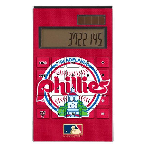 Philadelphia Phillies 1984-1991 Cooperstown Solid Design Desktop Calculator