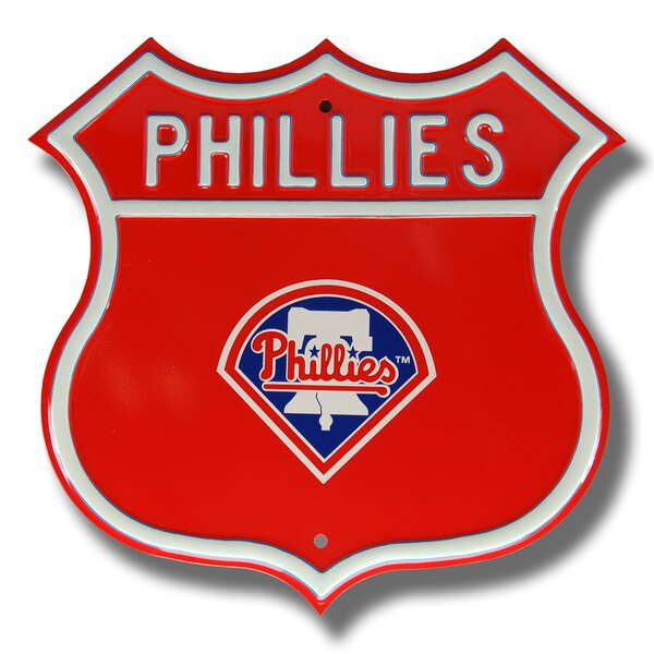 "Philadelphia Phillies 16"" Route Sign"