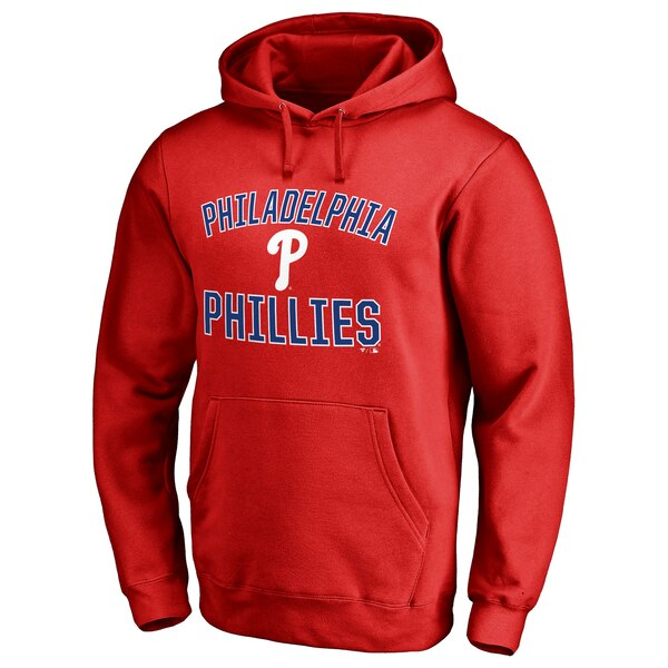 Philadelphia Phillies Victory Arch Pullover Hoodie - Red