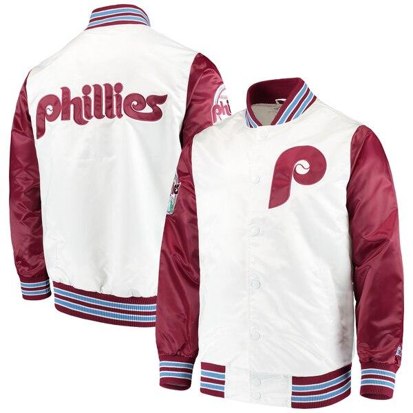 Philadelphia Phillies Starter The Legend Jacket - White