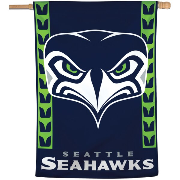 """Seattle Seahawks WinCraft 28"""" x 40"""" Secondary Logo Single-Sided Vertical Banner"""