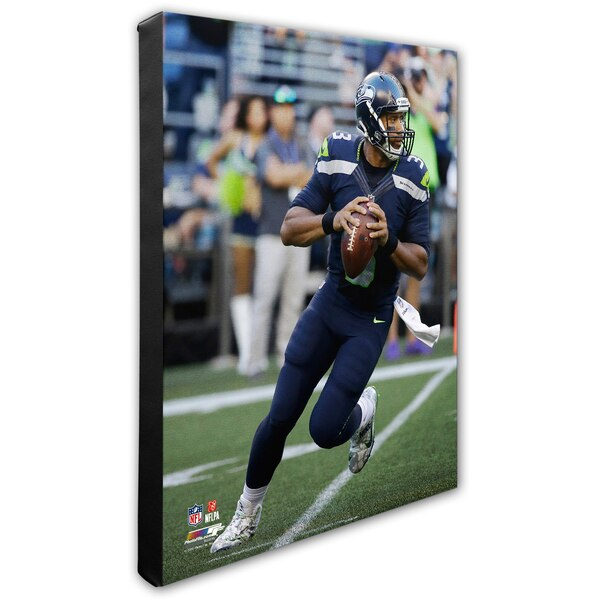 "Russell Wilson Seattle Seahawks 16"" x 20"" Player Canvas"