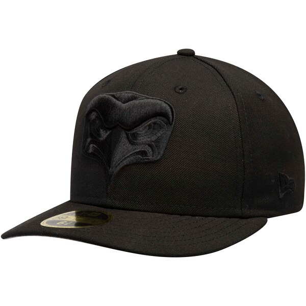 Seattle Seahawks New Era Alternate Logo Bob Low Profile 59FIFTY Fitted Hat - Black