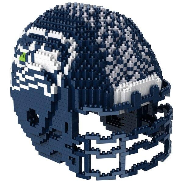 Seattle Seahawks 3D Helmet BRXLZ Puzzle