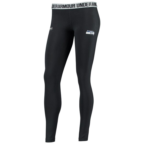 Seattle Seahawks Under Armour Women's Combine Authentic Favorites Leggings - Black
