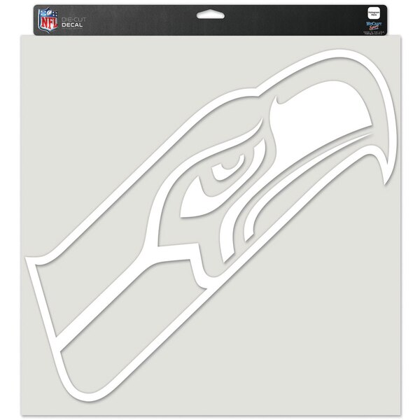 """Seattle Seahawks WinCraft 17"""" x 17"""" Perfect Cut Decal"""